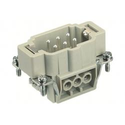 6 pin vnitřní díl s kolíky
