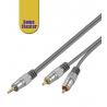 Audio video kabel Jack - cinch