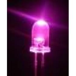 LED 5mm. růžová