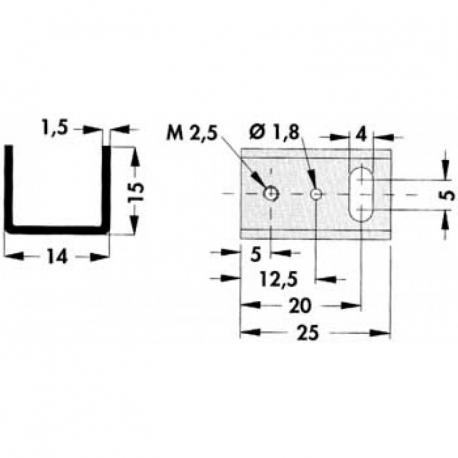 Chladič TO220 U