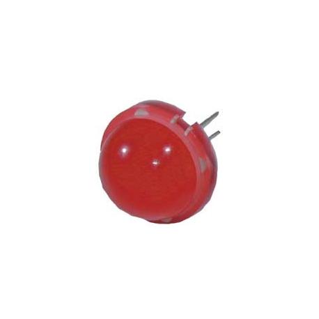 LED prům.20mm. červená
