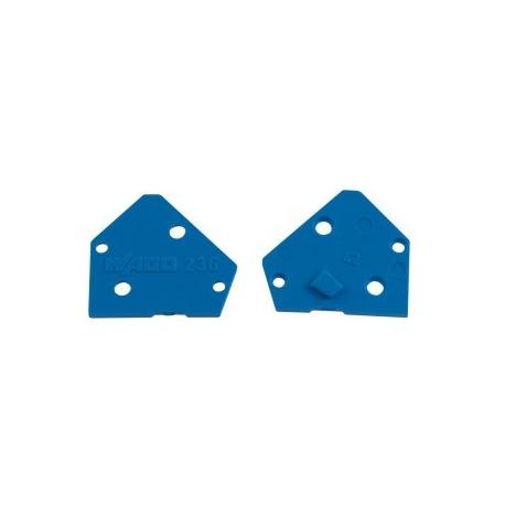 Bočnice pro svorkovnice modrá