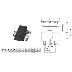 NPN BCX56-SMD