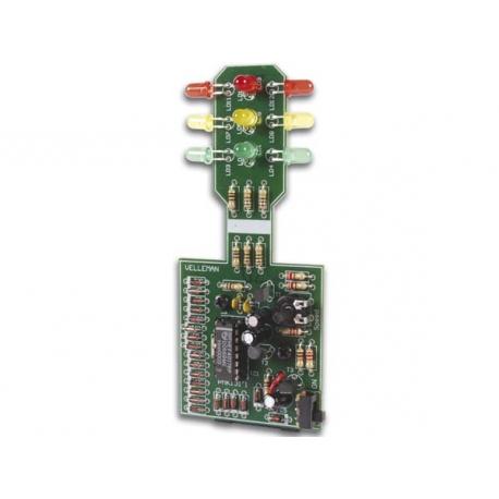 Stavebnice - Semafor. 12 LED. 9V
