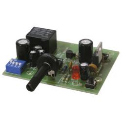 Stavebnice - Časový spínač s obvodem NE555 (4 rozsahy. 0-4000sec.. 230V/6A)