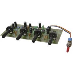 Stavebnice -Korekční stereo zesilovač s LM1036N (zkreslení 0.06%)