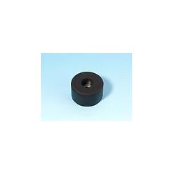 Nožička gumová s kov.vložkou 38x15mm