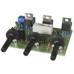 Barevná hudba třípásm.(max.3x400W) s elektretovým mikrofonem / stav.