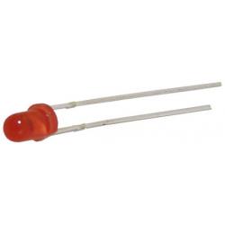 LED 3mm. červená