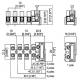 Svorkovnice CM 1035 2pól+1pojistková