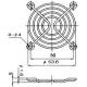 Ochranná mřížka k ventilátoru 60mm