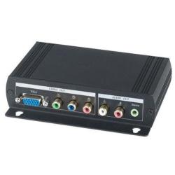 Konvertor HDMI na VGA/CVS + stereo audio