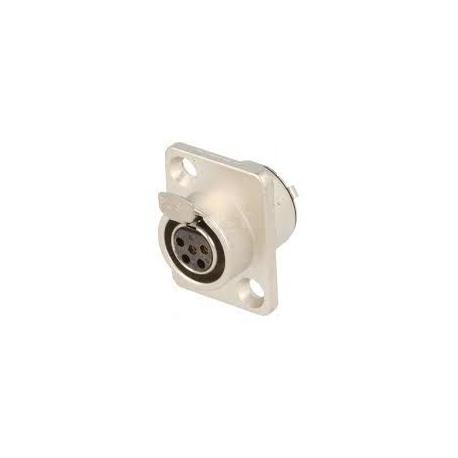 5 pin miniXLR zásuvka