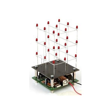 Stavebnice - Elektronická kostka