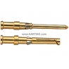 Krimpovací dutinka pro 108 a 72 pin. zlacená