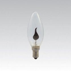 Ozdobná doutnavka svíčka E14