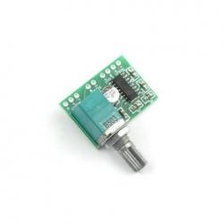 Digitální zesilovač  2x3W s potenciometrem
