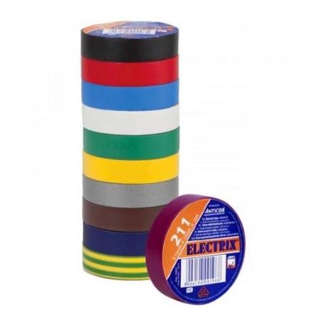 Páska izolační PVC, 15mm x 10m, tloušťka 0,13mm