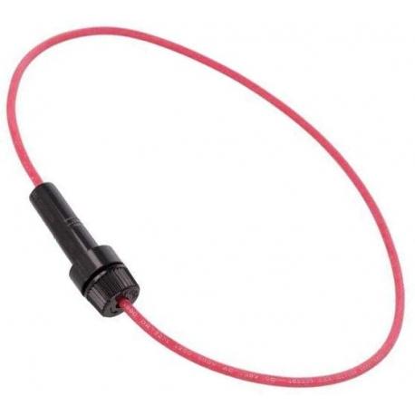 Kvalitní držák pojistky 6,3x32 na kabel