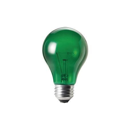 230V/15W E27 PHILIPS zelená
