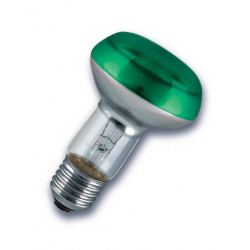 230V/40W E27 R63 PHILIPS  zelená