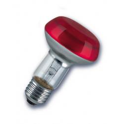 230V/40W E27 R63 PHILIPS  červená