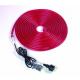 Rubberlight červený 230V