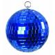 Zrcadlová koule 5cm modrá