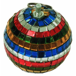Zrcadlová koule 5cm multibarevná
