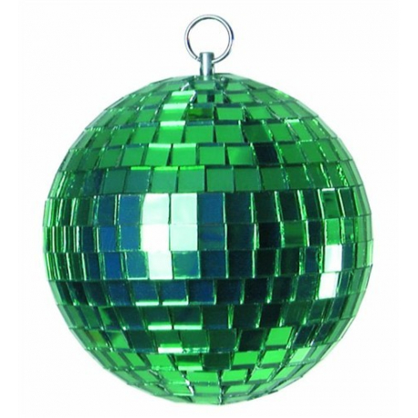 Zrcadlová koule 5cm zelená