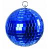 Zrcadlová koule 10cm modrá