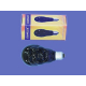 UV žárovka lebka 75W Omnilux. E27.80mm