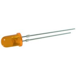LED 5mm. oranžová